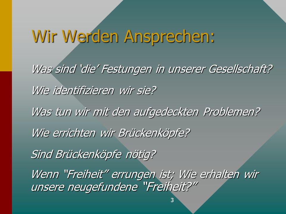 4 5 Allgemeine Leitfäden für die Transformation der Gesellschaft.