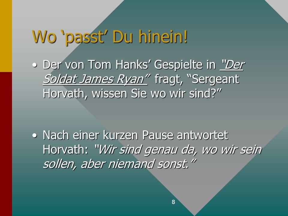 9 Einheit im Zweck des Gebets Erzeugt 'Himmlische' Resultate auf Erden!