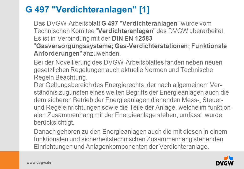 www.dvgw.de G 497