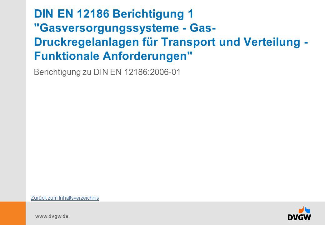 www.dvgw.de DIN EN 12186 Berichtigung 1