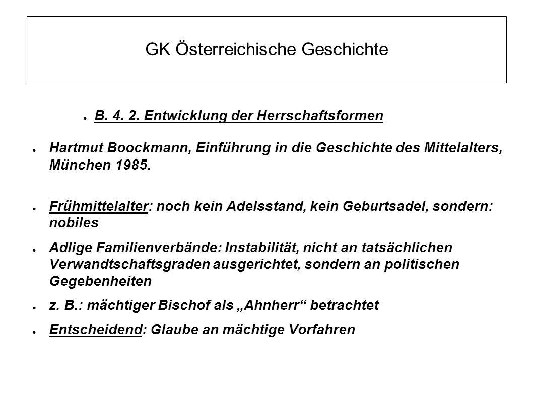 GK Österreichische Geschichte ● B.4. 2.