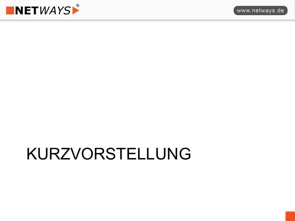 Kurzvorstellung MICHAEL STREB  seit 2006 bei der NETWAYS GmbH  Managing Consultant / Trainer  zuvor 7 Jahre im Bereich IT-Infrastruktur und Rechenzentrum –Betrieb von Netzwerken –Aufbau von Rechenzentren –Interner IT Betrieb eines Softwareunternehmens