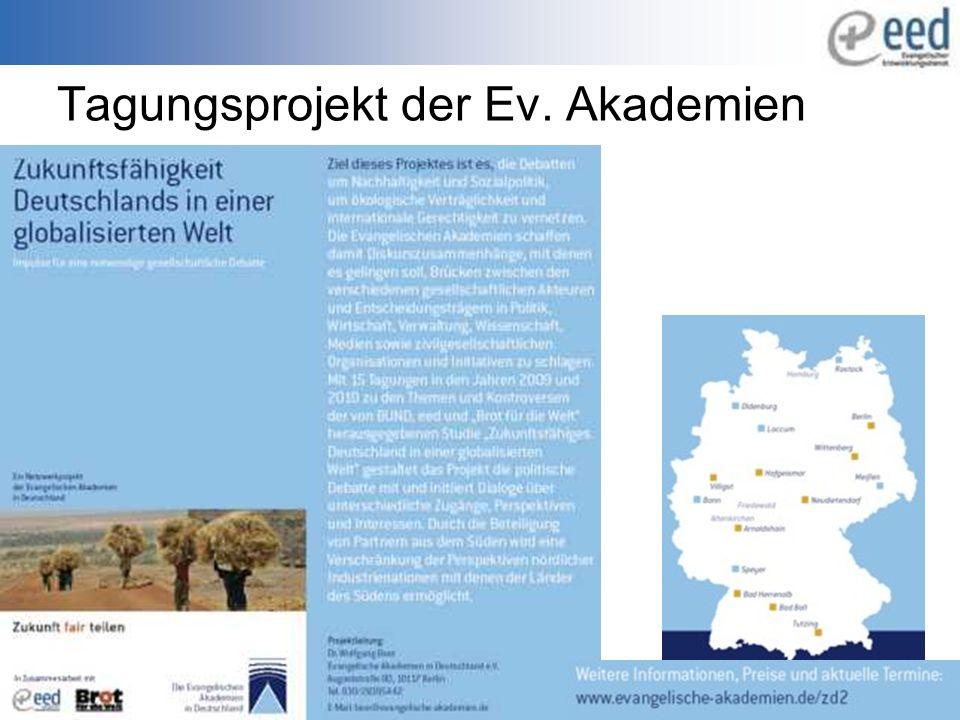 Tagungsprojekt der Ev. Akademien