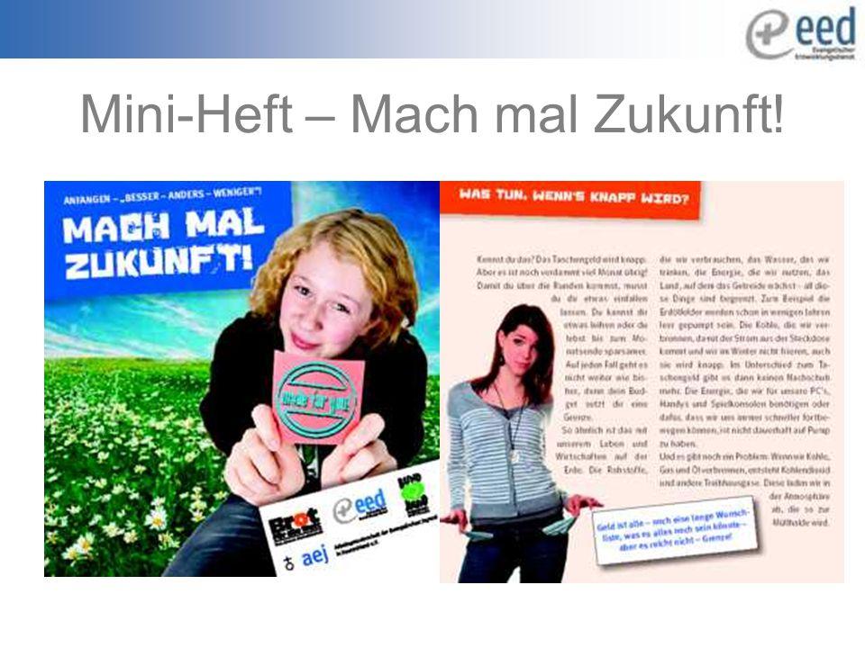 Mini-Heft – Mach mal Zukunft!