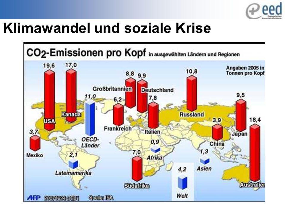 Klimawandel und soziale Krise