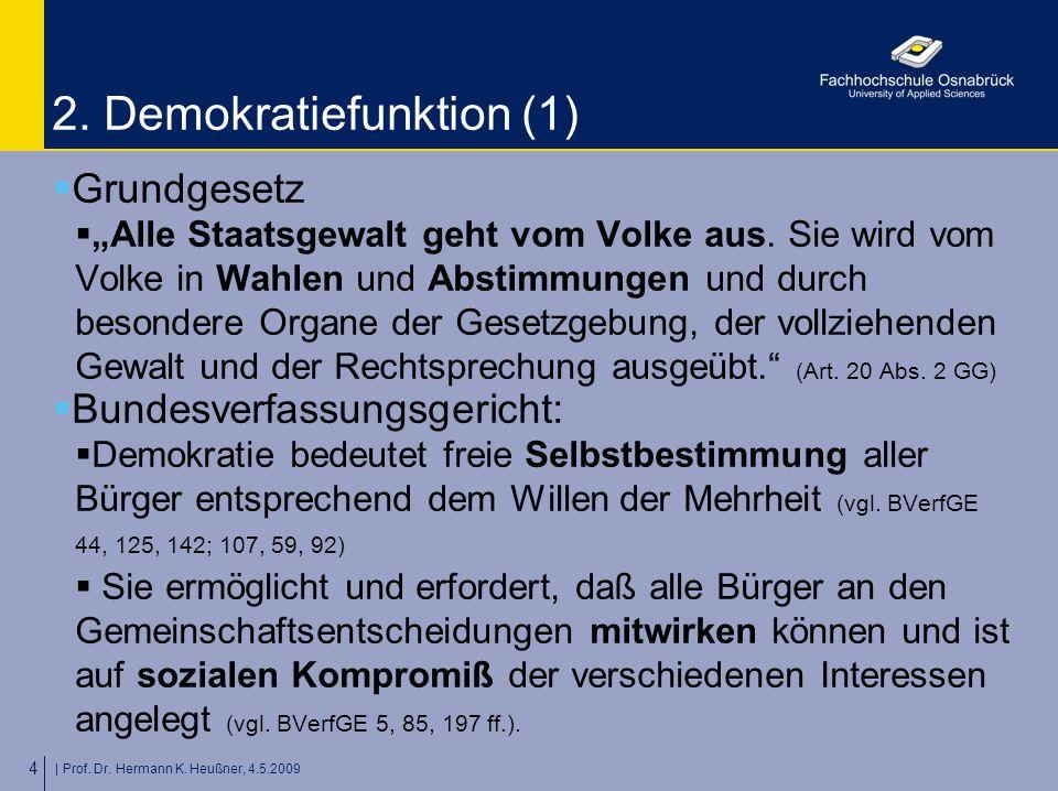 | Prof. Dr. Hermann K. Heußner, 4.5.2009 4 2.