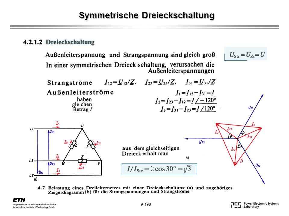 Symmetrische Dreieckschaltung Symmetrische Dreieckschaltung V-198