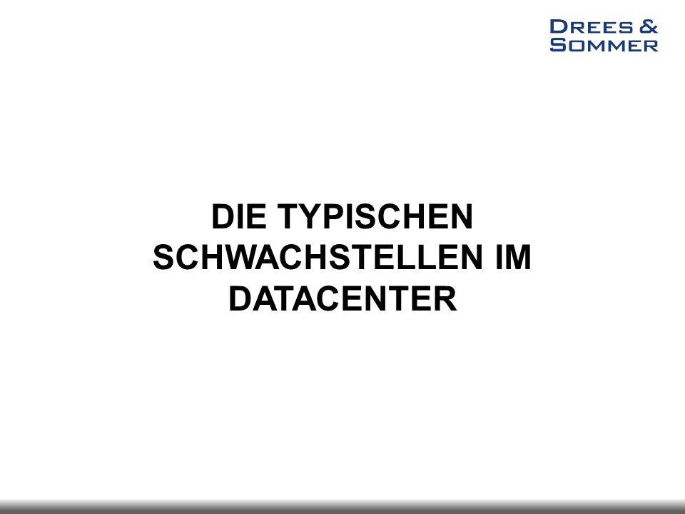DIE TYPISCHEN SCHWACHSTELLEN IM DATACENTER