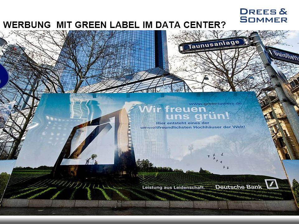 Image - Kampagnen WERBUNG MIT GREEN LABEL IM DATA CENTER?