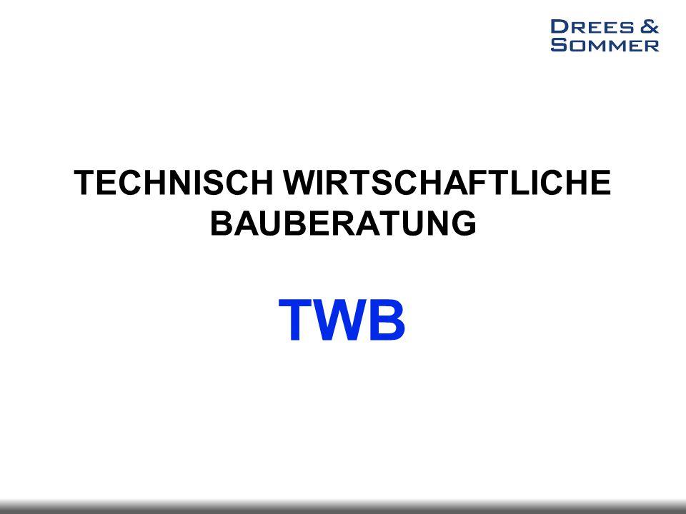TECHNISCH WIRTSCHAFTLICHE BAUBERATUNG TWB