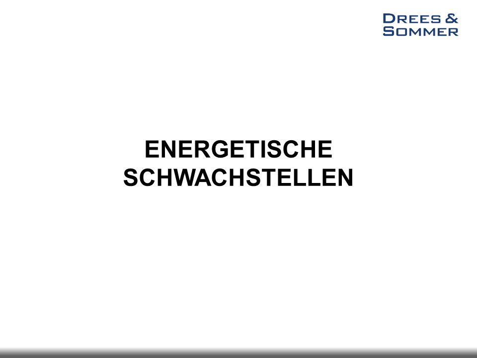 ENERGETISCHE BEWERTUNG