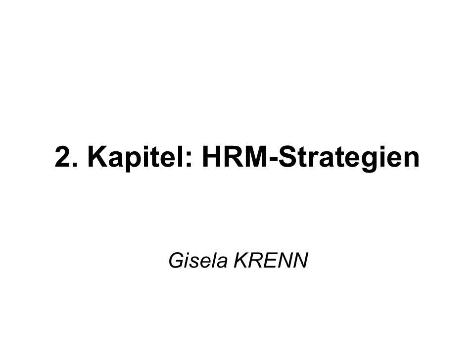 2. Kapitel: HRM-Strategien Gisela KRENN