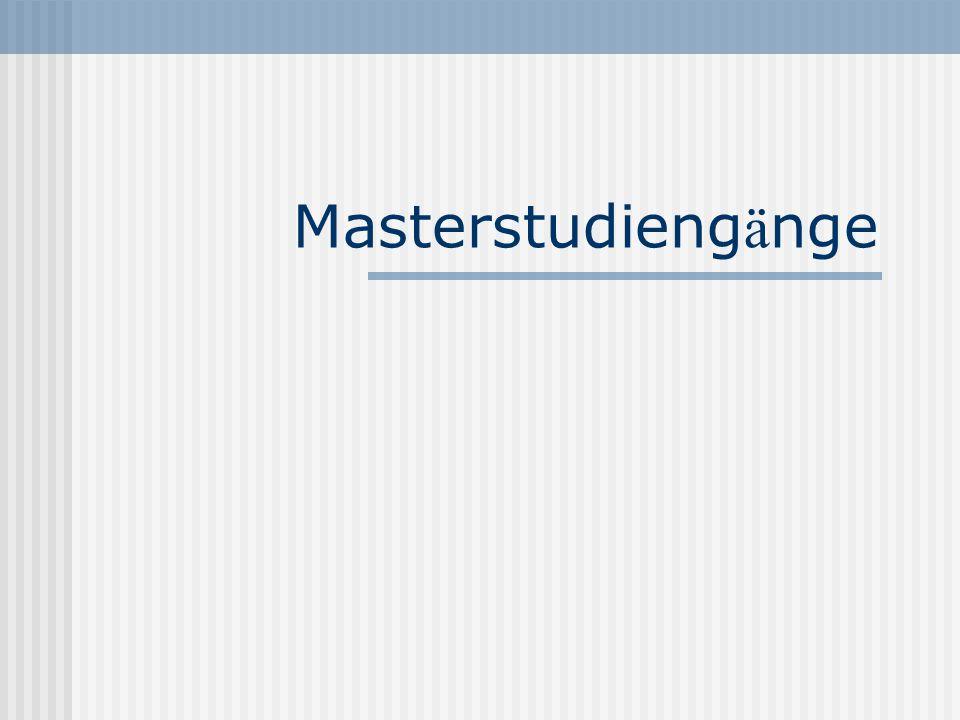 Masterstudieng ä nge