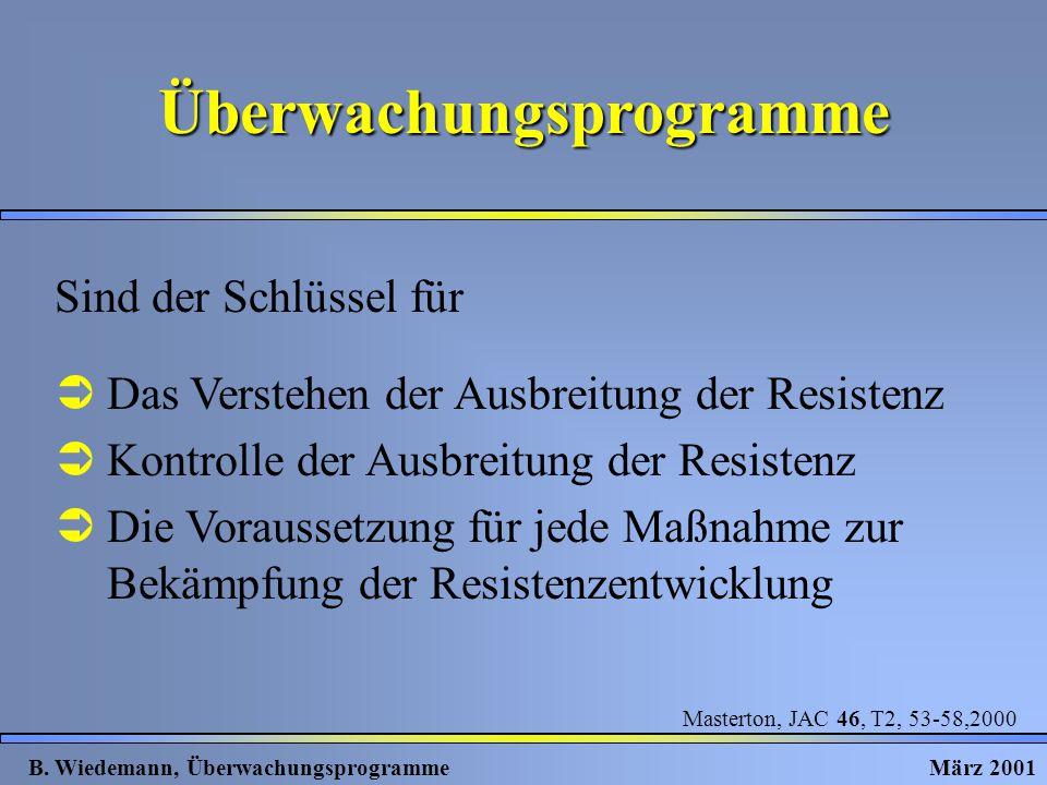 Überwachungsprogramme B.