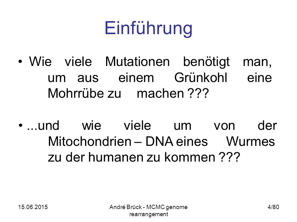"15.06.2015André Brück - MCMC genome rearrangement 25/80 Grundlagen ""Interleaving graph ""RD-diagram"