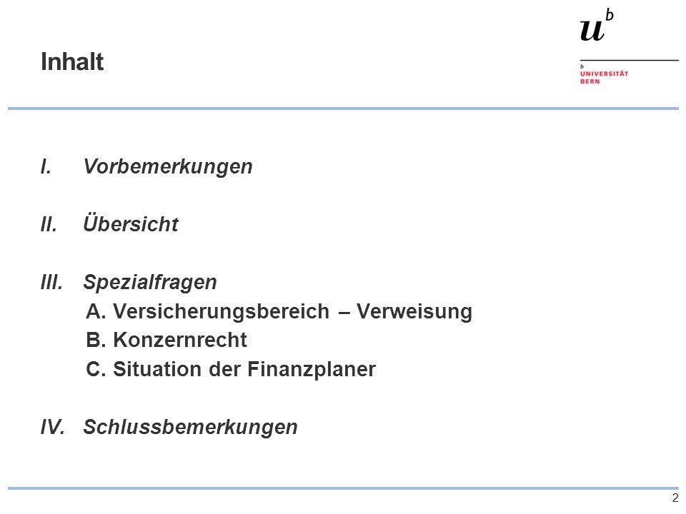33 Vorbemerkungen 1.Zielsetzung  Überblick zur Thematik der sog.