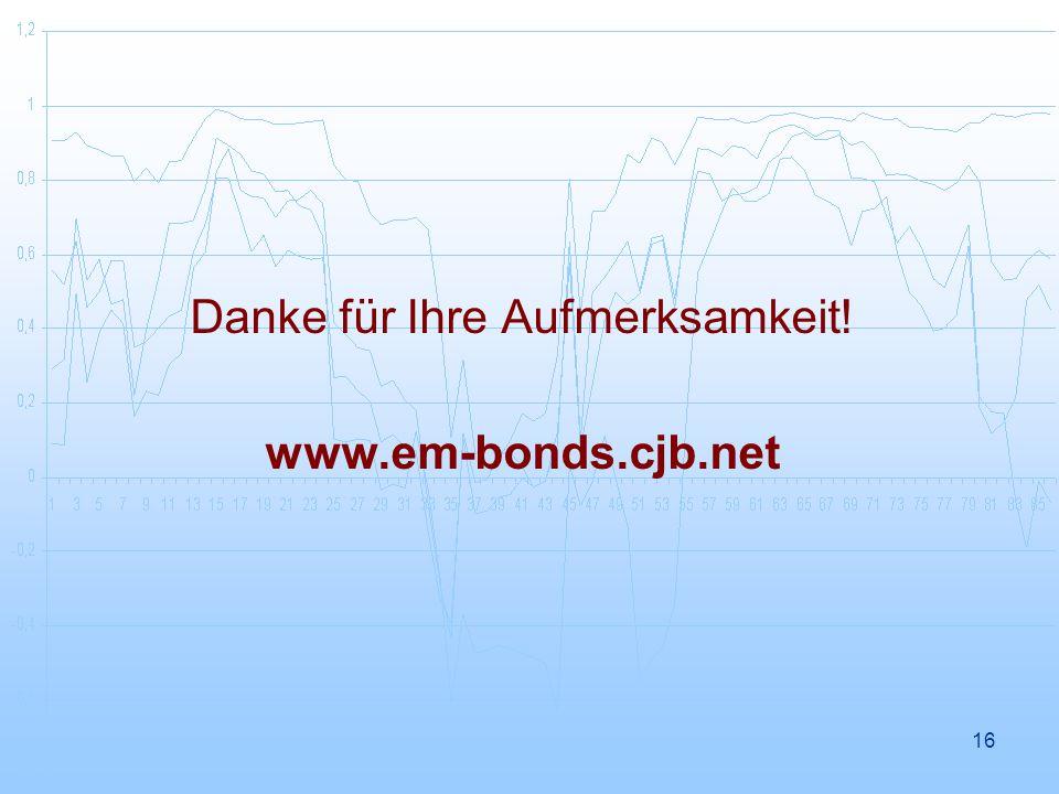 16 Danke für Ihre Aufmerksamkeit! www.em-bonds.cjb.net