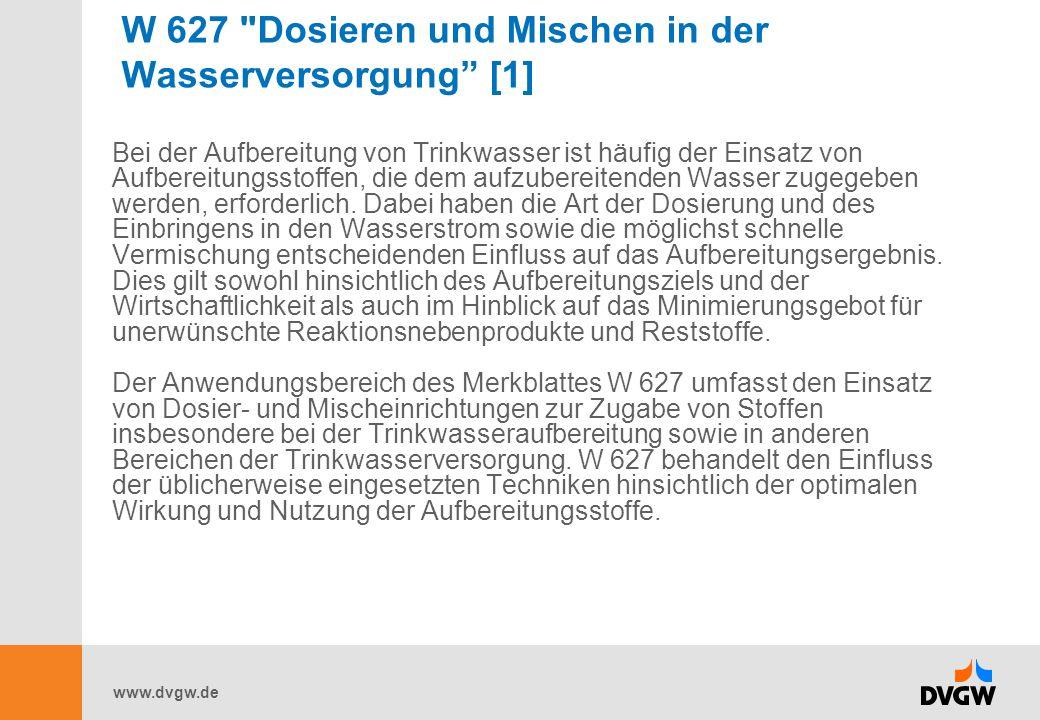 www.dvgw.de W 627