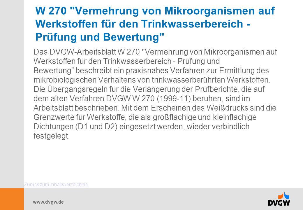 www.dvgw.de W 270