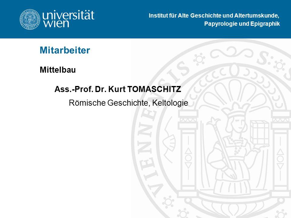 Mittelbau Ass.-Prof. Dr.