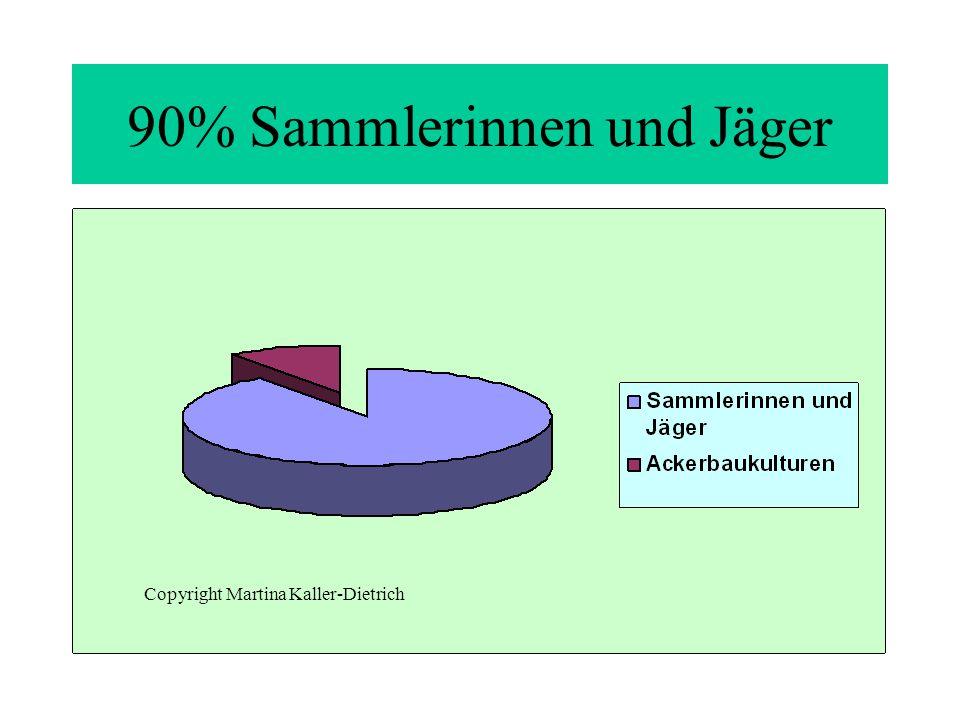90% Sammlerinnen und Jäger Copyright Martina Kaller-Dietrich
