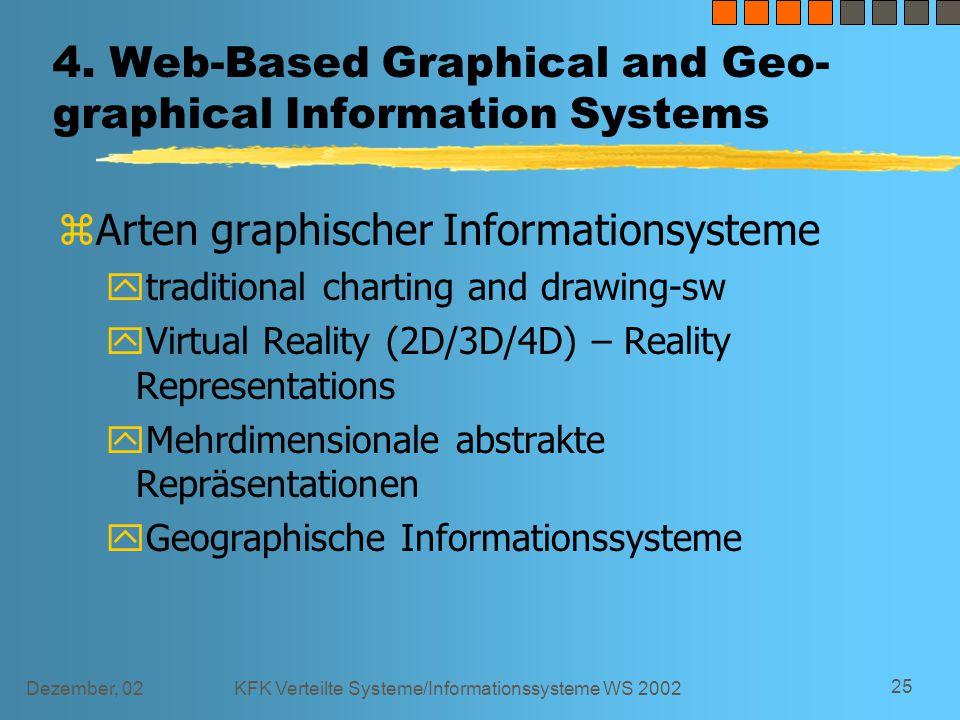 Dezember, 02KFK Verteilte Systeme/Informationssysteme WS 2002 25 4.