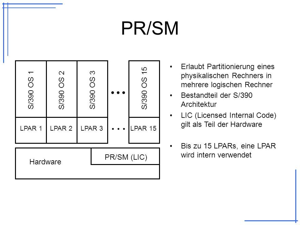 Vergleich USS vs.Linux USSLinux OS/390-Kernel mit ca.