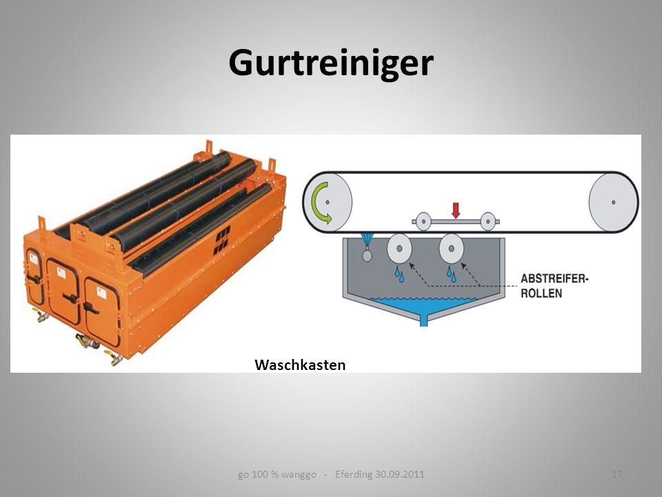 Waschkasten 17go 100 % wanggo - Eferding 30.09.2011 Gurtreiniger