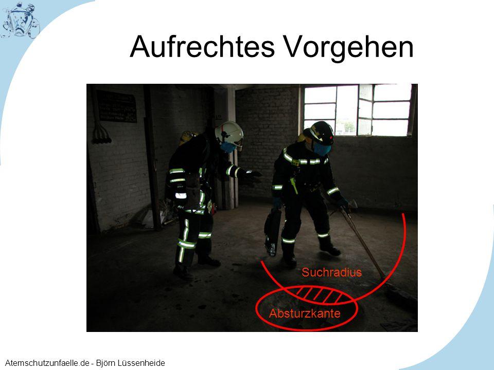 Atemschutzunfaelle.de - Björn Lüssenheide Aufrechtes Vorgehen Absturzkante Suchradius