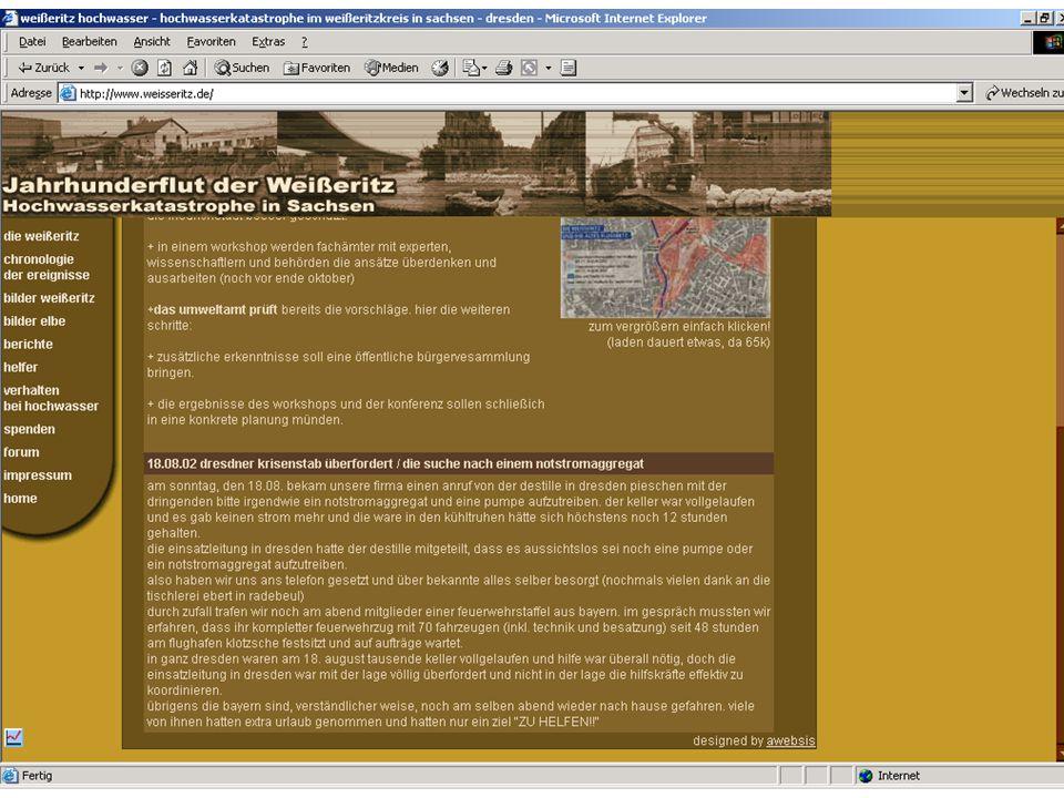 Wissensmanagement SS 2006 Informationslogistik - 5 Worzyk FH Anhalt