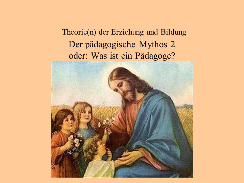Theorie(n) der Erziehung und Bildung Das pädagogische Erbe der Antike: Paideia 2.2 Bildung verwirklicht sich in einem engen Zusammenspiel von Politik und Pädagogik.