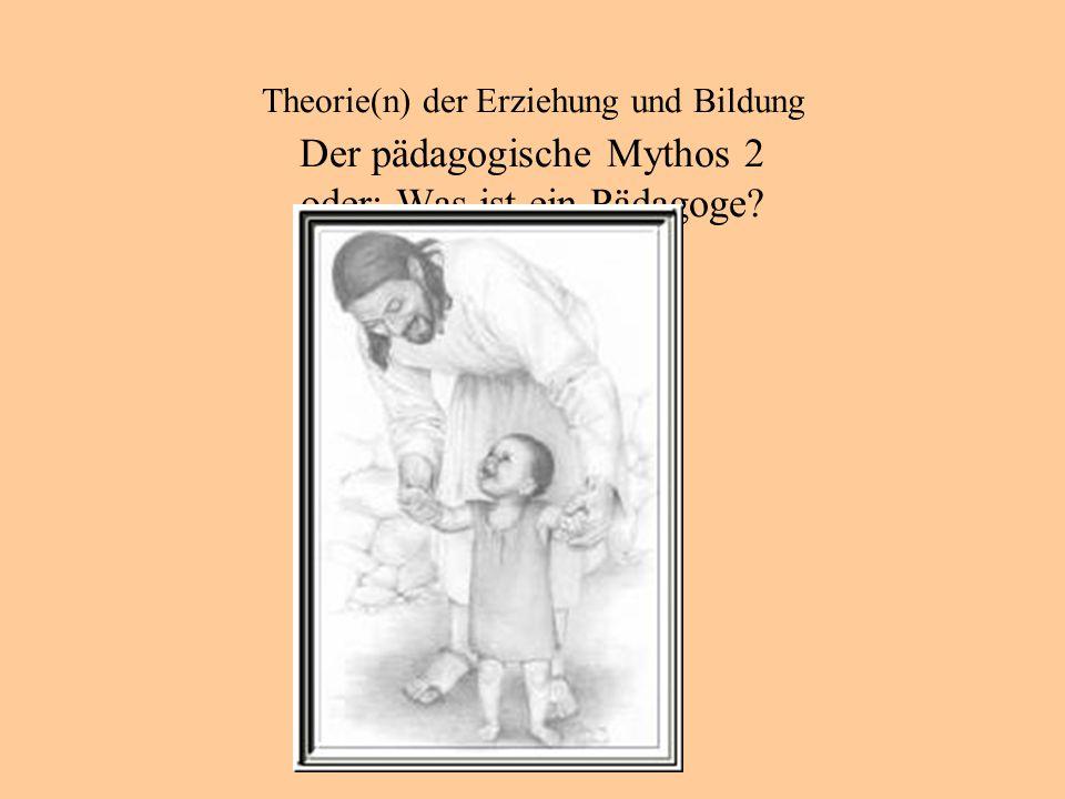 Theorie(n) der Erziehung und Bildung Anfänge in der Antike Plato: der Staat Kritik (u.a.