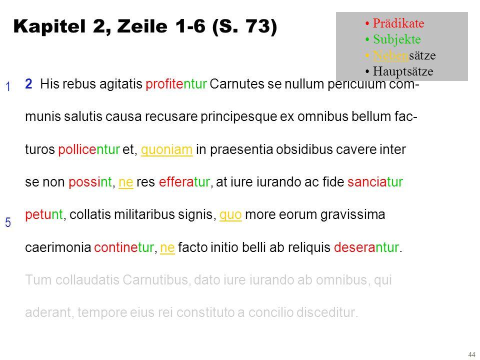 44 2 His rebus agitatis profitentur Carnutes se nullum periculum com- munis salutis causa recusare principesque ex omnibus bellum fac- turos pollicentur et, quoniam in praesentia obsidibus cavere inter se non possint, ne res efferatur, at iure iurando ac fide sanciatur petunt, collatis militaribus signis, quo more eorum gravissima caerimonia continetur, ne facto initio belli ab reliquis deserantur.