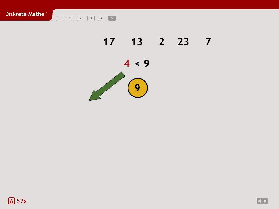Diskrete Mathe1 123455 A 52x 17132237 9 4 4