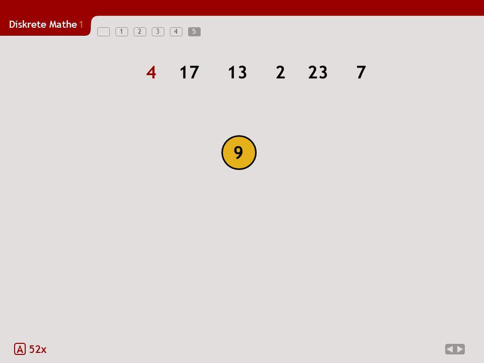 Diskrete Mathe1 123455 A 52x 417132237 9