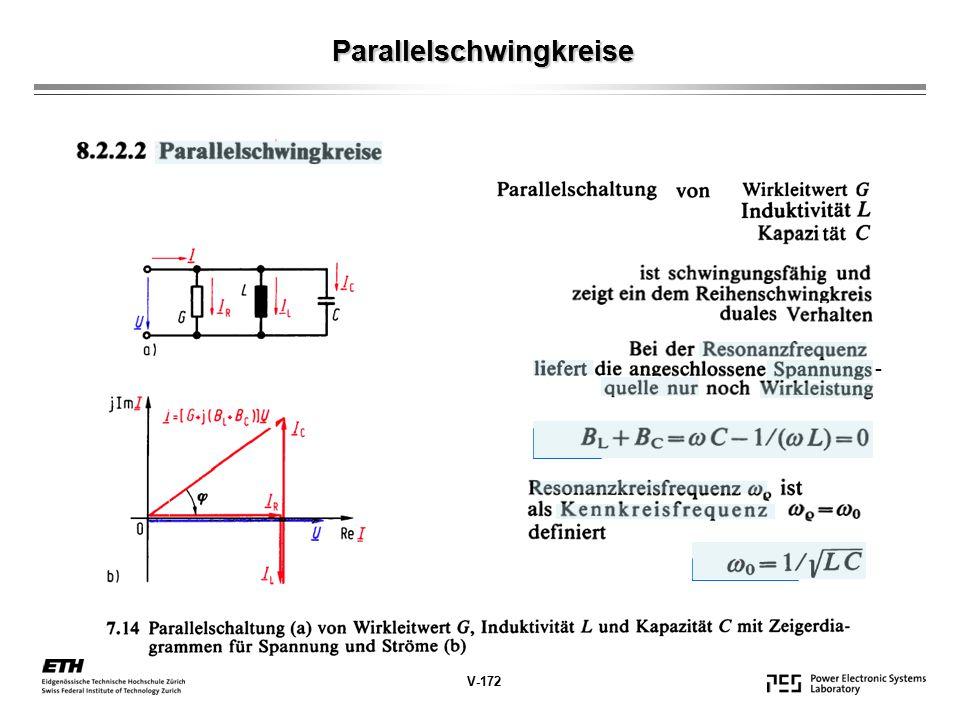 Parallelschwingkreise V-172 -