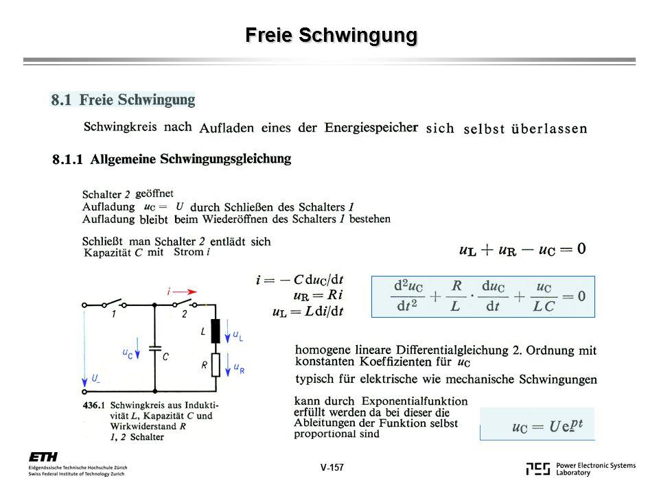 Freie Schwingung V-157