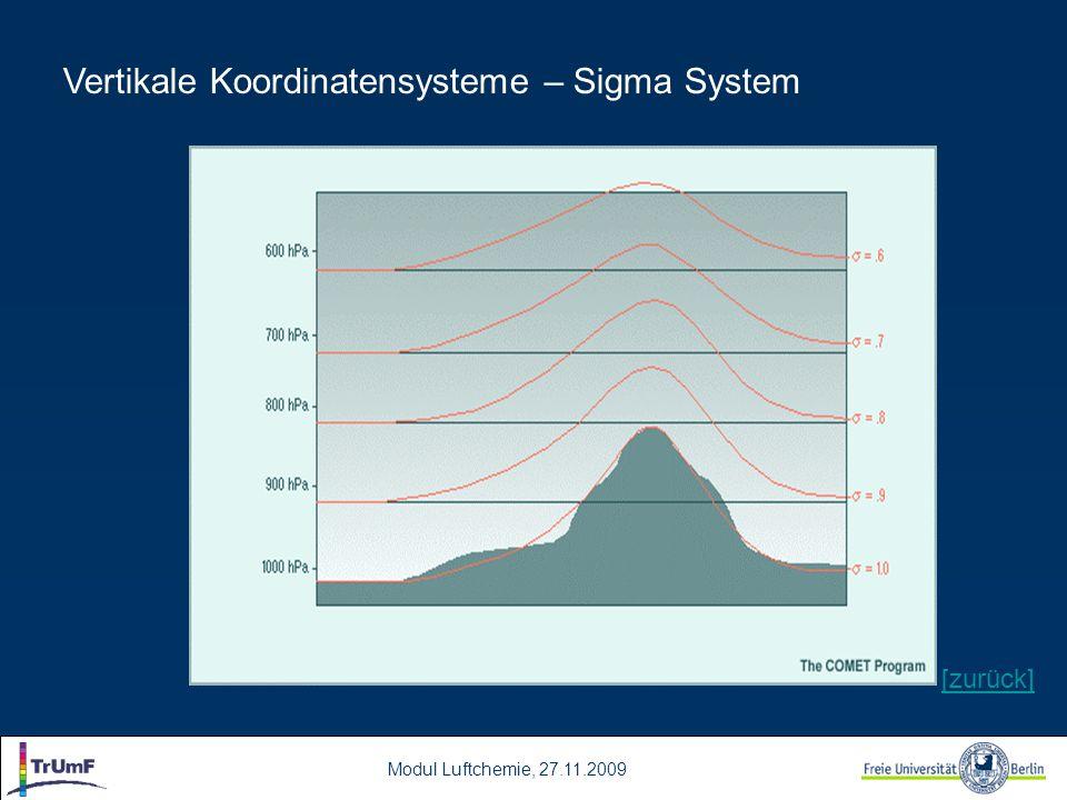 Modul Luftchemie, 27.11.2009 Vertikale Koordinatensysteme – Sigma System [zurück]