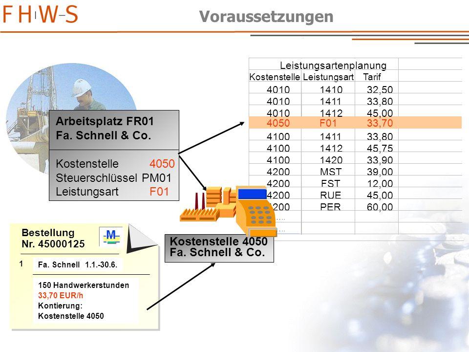 - 64 - Bestellung Nr.45000125 1 M M M Fa. Schnell 1.1.-30.6.