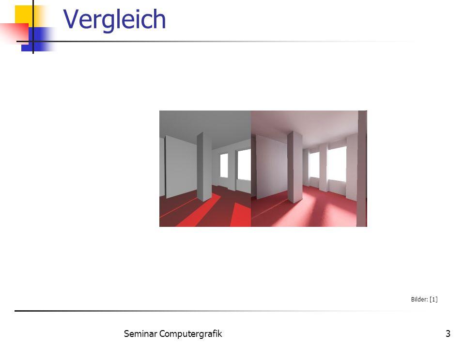 Seminar Computergrafik34 Beispiel Bilder: [4]