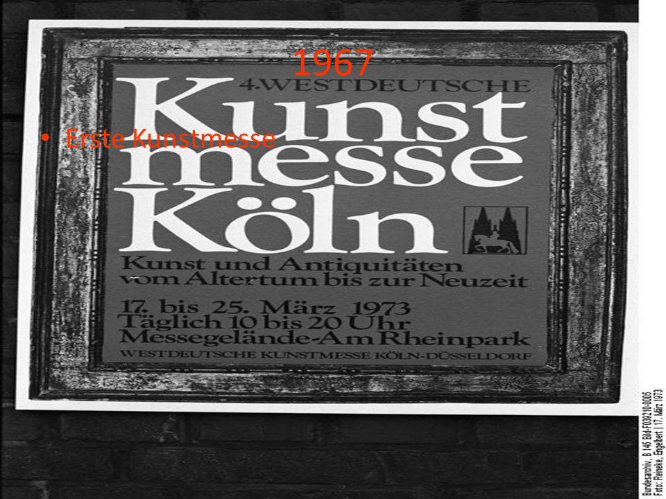 1967 Erste Kunstmesse