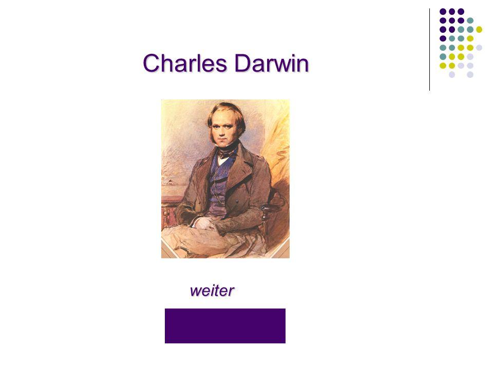 Charles Darwin Charles Darwin weiter