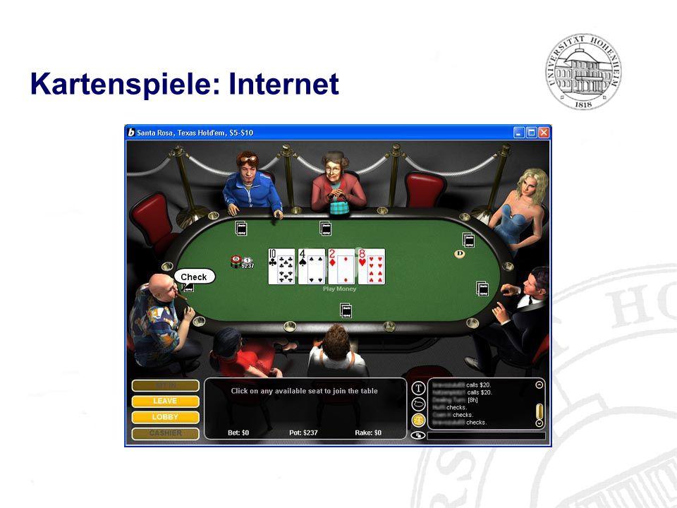 Kartenspiele: Internet