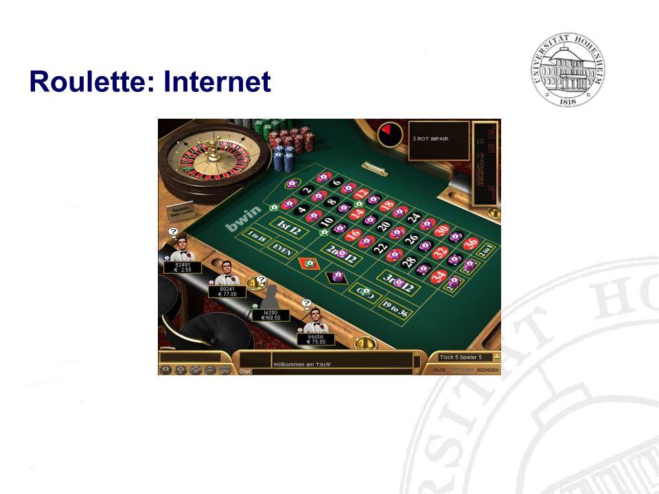 Roulette: Internet