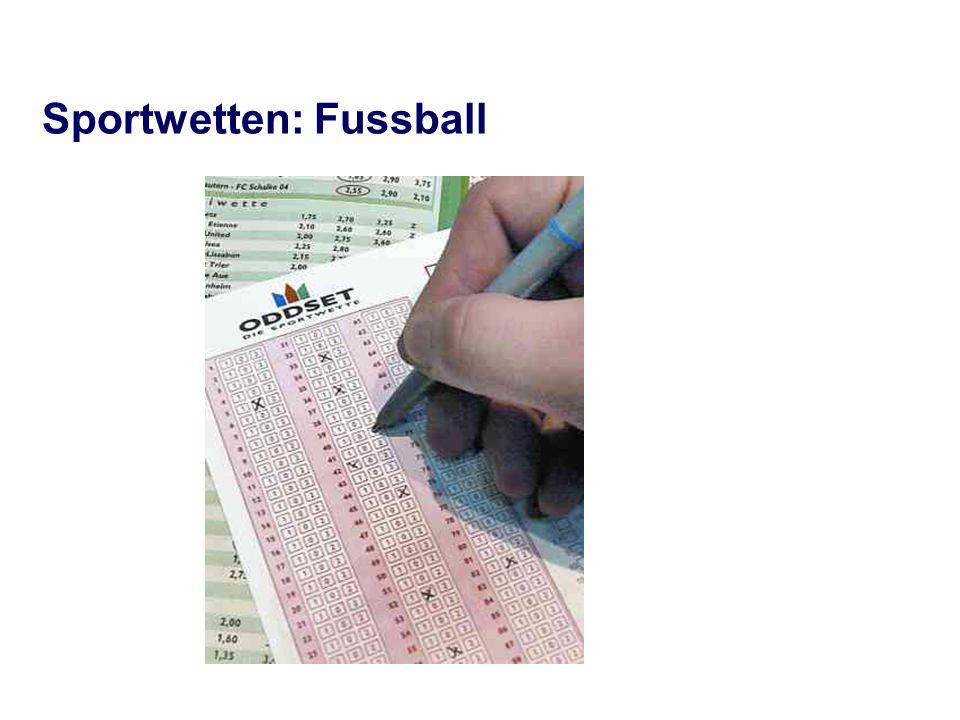 Sportwetten: Fussball