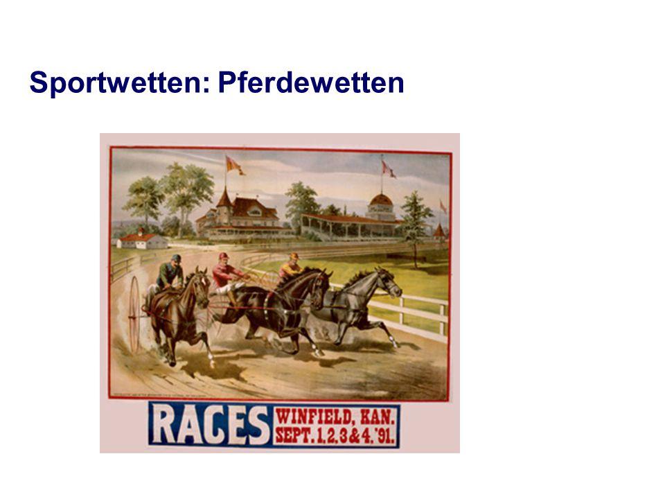 Sportwetten: Pferdewetten