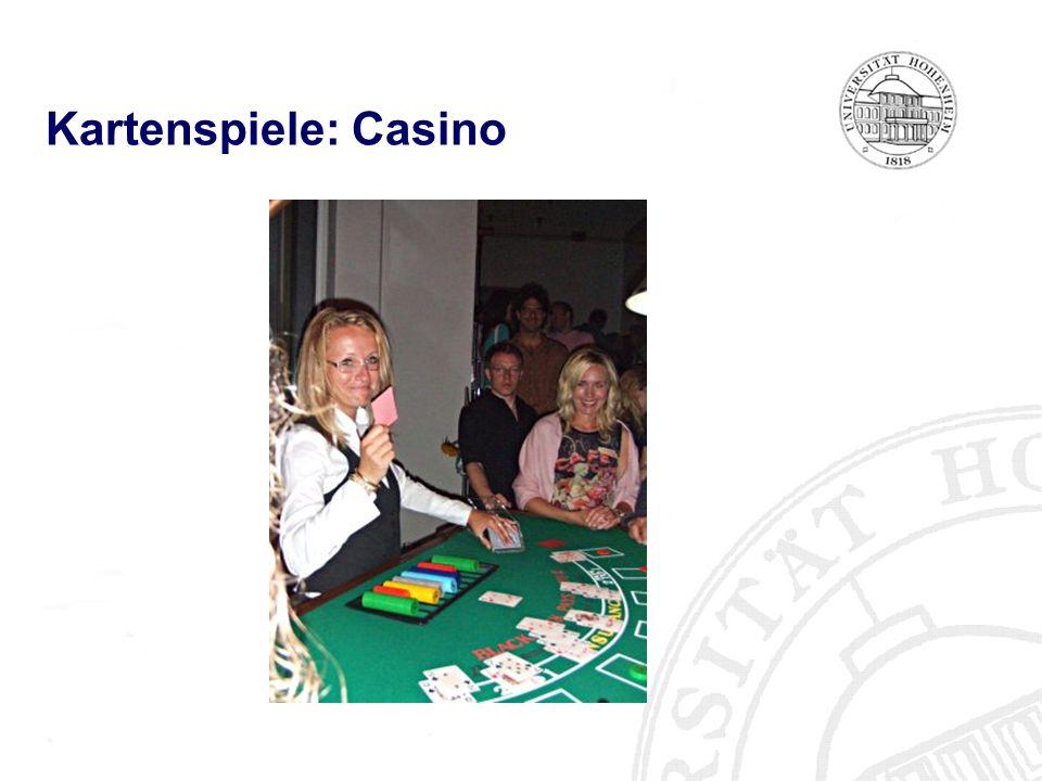 Kartenspiele: Casino