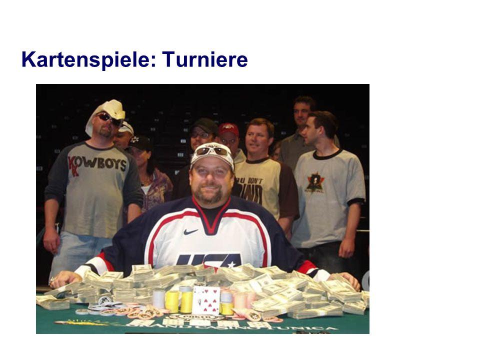 Kartenspiele: Turniere