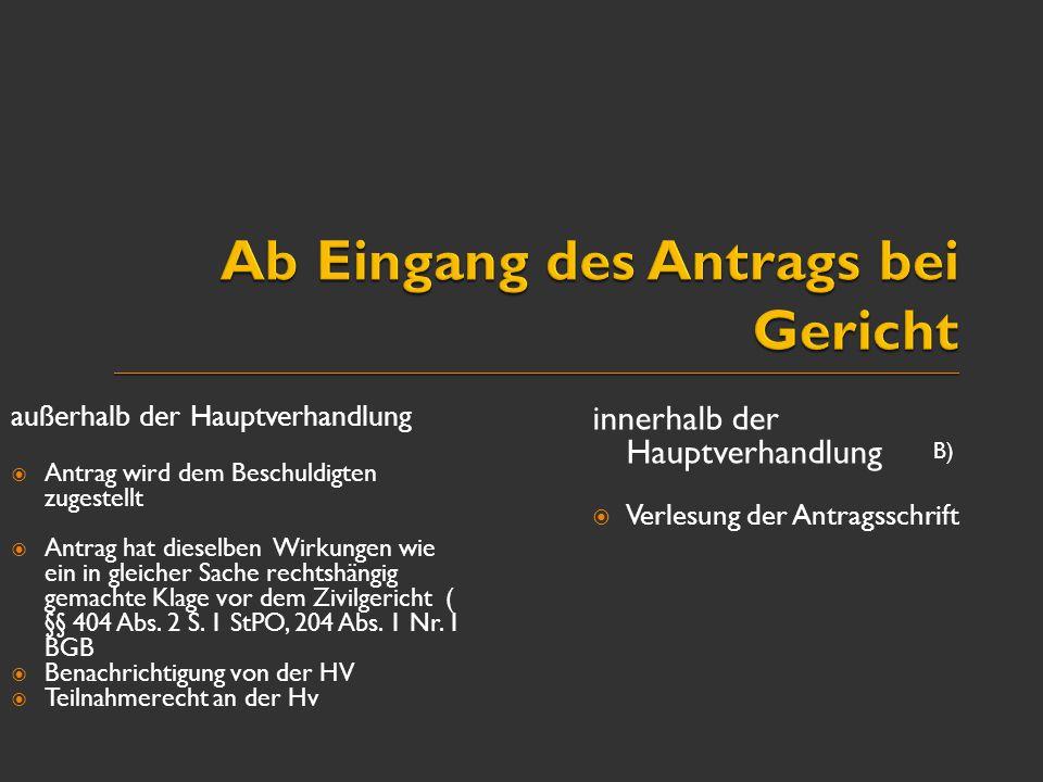 """ Stattgabe durch """"streitiges Urteil (ganz oder teilweise oder auch nur dem Grunde nach - § 406 Abs."""