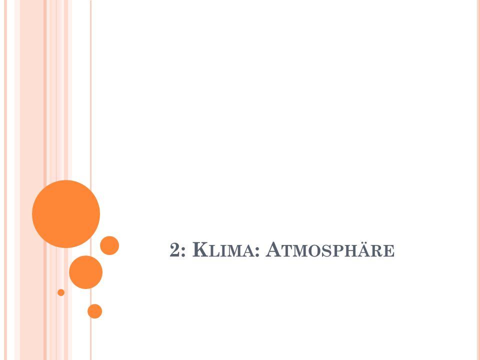 2: K LIMA : A TMOSPHÄRE
